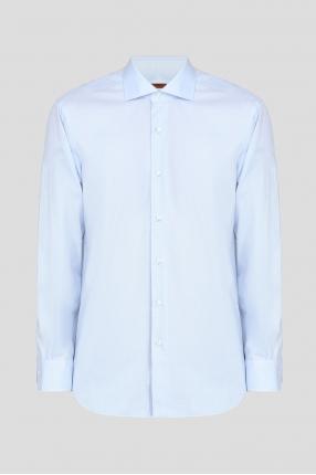 Мужская голубая рубашка