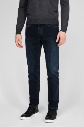 Мужские темно-синие джинсы 1