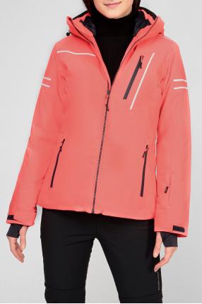 Женская розовая куртка 1