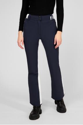 Женские темно-синие лыжные брюки 1
