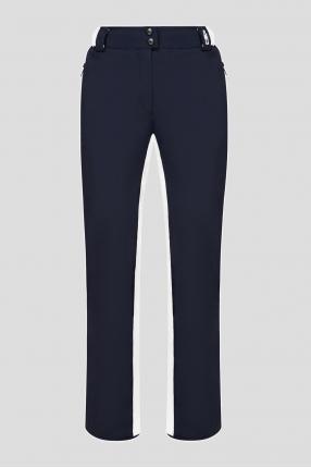 Женские темно-синие лыжные брюки