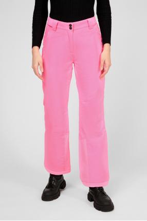 Женские розовые лыжные брюки 1