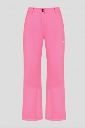 Женские розовые лыжные брюки