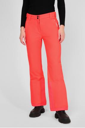 Женские коралловые лыжные брюки 1