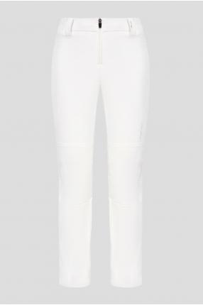 Женские белые лыжные брюки