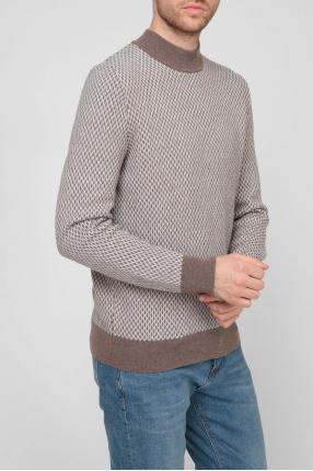Мужской шерстяной свитер 1