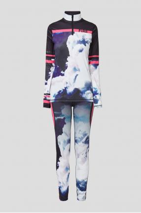 Женский спортивный костюм (кофта, леггинсы)