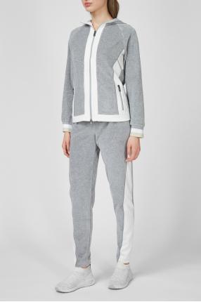 Женский спортивный костюм (худи, брюки) 1