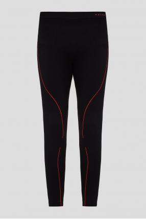 Мужские черные термо-брюки MAXIMUM WARM
