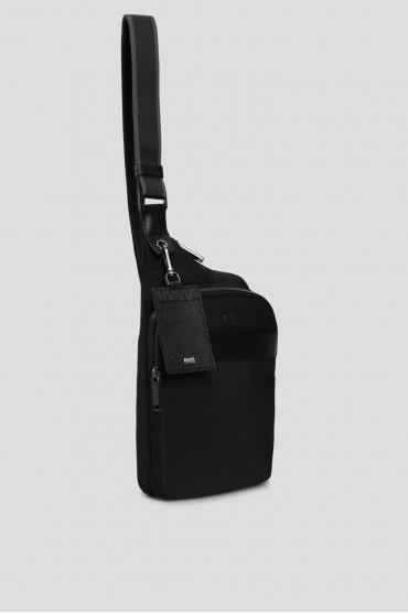 Мужская черная сумка 5