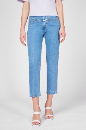 Жіночі блакитні джинси 1