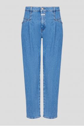 Жіночі блакитні джинси