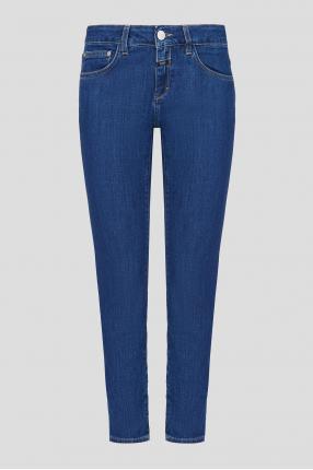 Жіночі сині джинси