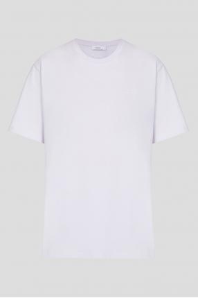 Женская сиреневая футболка