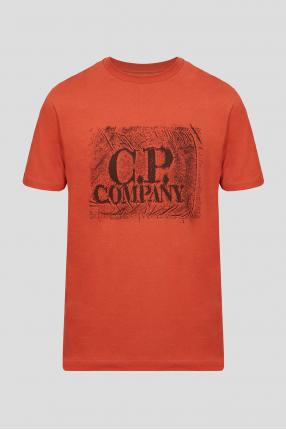 Мужская терракотовая футболка
