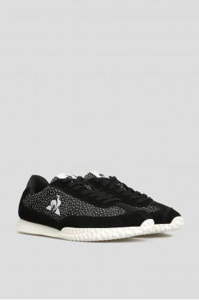 Женские черные замшевые кроссовки 1