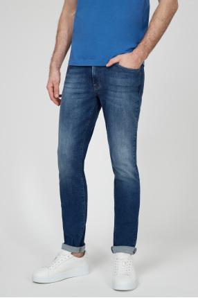 Мужские синие джинсы 1