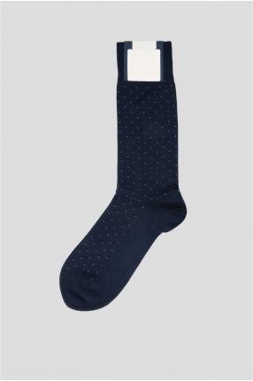 Мужские синие носки 1