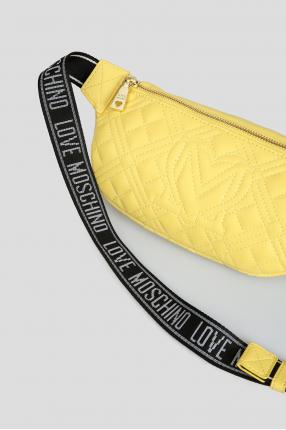 Жіноча жовта поясна сумка 1