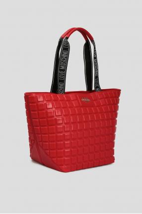 Жіноча червона сумка 1