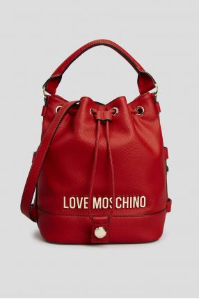 Женская красная сумка