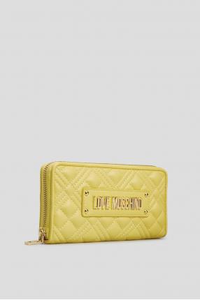 Женский желтый кошелек 1