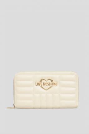 Жіночий бежевий гаманець