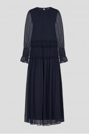 Жіноча темно-синя сукня