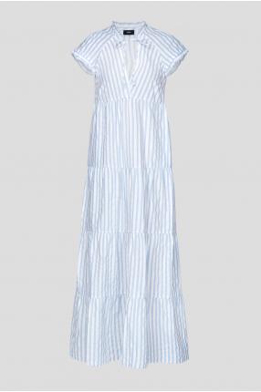 Жіноча сукня у смужку