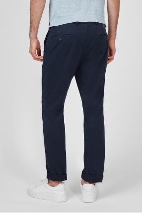 Мужские темно-синие брюки 1