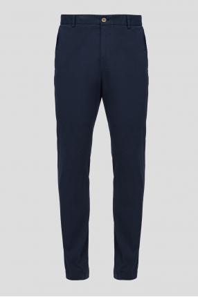 Мужские темно-синие брюки