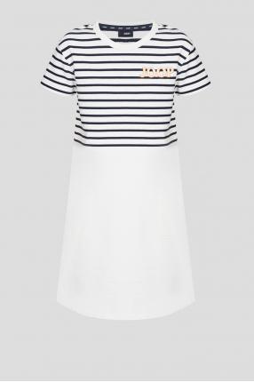 Жіноча біла сукня