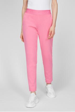 Женские розовые брюки 1