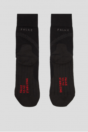 Мужские черные носки для бега 1