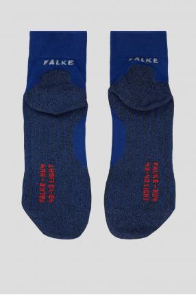 Мужские синие носки для бега 1