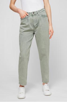 Женские мятные джинсы 1
