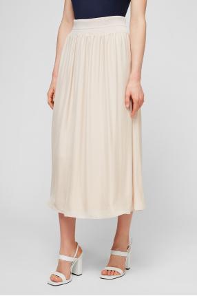 Женская бежевая юбка 1