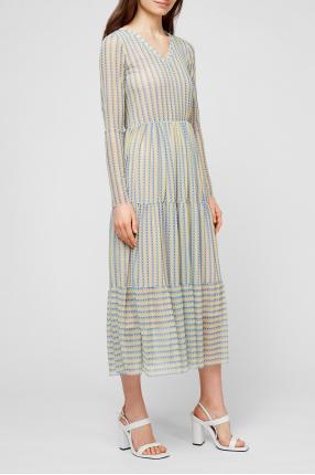 Женское платье с принтом 1