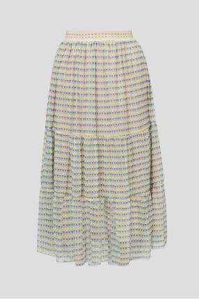 Женская юбка с принтом