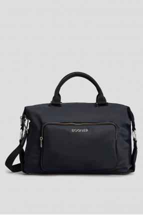 Темно-синяя сумка