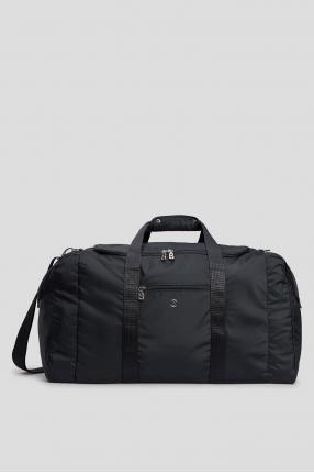 Темно-синяя дорожная сумка