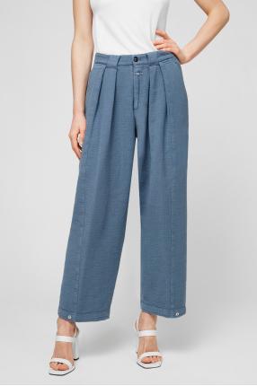 Женские голубые брюки 1