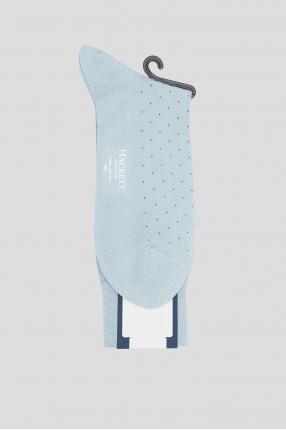 Мужские голубые носки 1