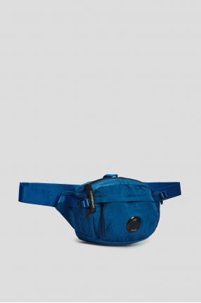 Чоловіча синя поясна сумка 1