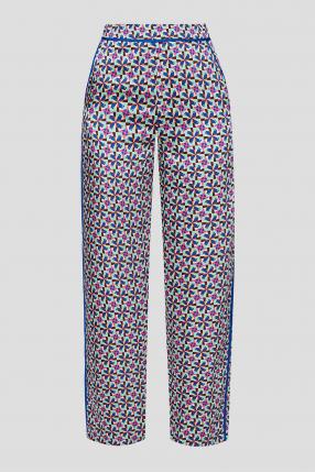 Женские брюки с узором