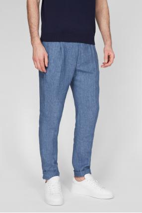 Мужские голубые брюки 1