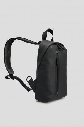 Мужская темно-серая сумка через плечо 1