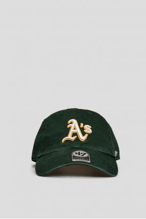 Зеленая кепка