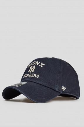 Темно-синяя кепка 1