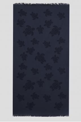 Чоловічий темно-синій рушник